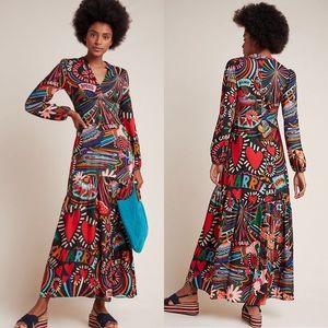 Farm Rio Baleares maxi dress NWT